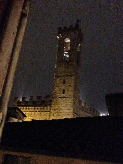 Tower from hotel window