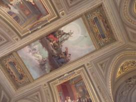 Vatican frescos