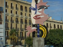 The Head of Barcelona is a surrealist sculpture created by American Pop artist Roy Lichtenstein for the 1992 Summer Olympics in Barcelona, Catalonia, Spain.