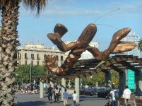 Gambrinus Lobster Statue