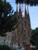 Basilica de la Sagrada Familia in Barcelona, Spain