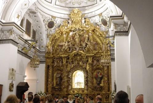 Altar at Church of the Precious Blood