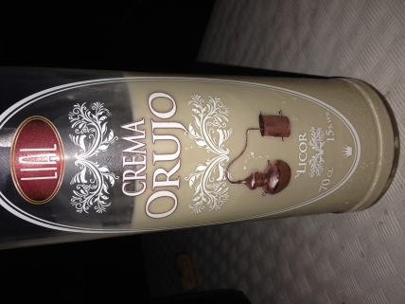 Crema de Orujo - mmm, good stuff