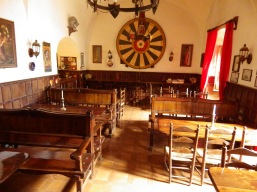 Inside the old tavern