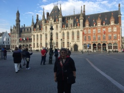 My beautiful mother in Grand Place Square